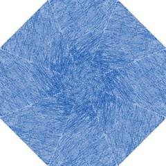 Blue pattern Straight Umbrellas