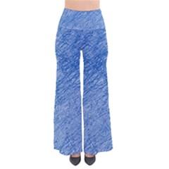 Blue Pattern Pants