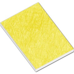 Yellow pattern Large Memo Pads
