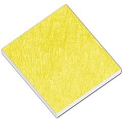 Yellow pattern Small Memo Pads
