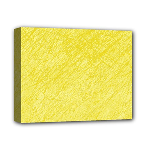 Yellow pattern Deluxe Canvas 14  x 11