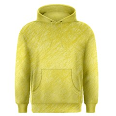 Yellow pattern Men s Pullover Hoodie