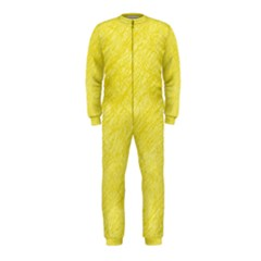 Yellow pattern OnePiece Jumpsuit (Kids)