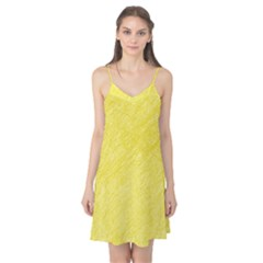 Yellow pattern Camis Nightgown
