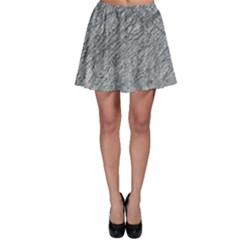 Gray pattern Skater Skirt