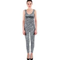 Gray pattern OnePiece Catsuit