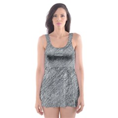 Gray pattern Skater Dress Swimsuit