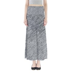 Gray Pattern Maxi Skirts