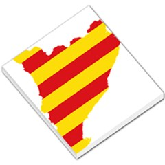 Flag Map Of Catalonia Small Memo Pads