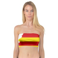 Flag Map Of Catalonia Bandeau Top