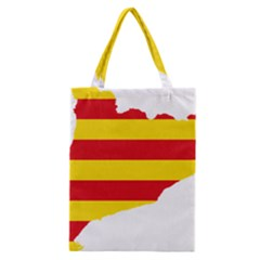 Flag Map Of Catalonia Classic Tote Bag