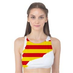 Flag Map Of Catalonia Tank Bikini Top