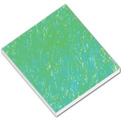 Green pattern Small Memo Pads