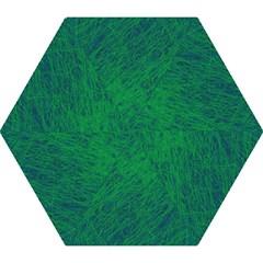 Deep green pattern Mini Folding Umbrellas
