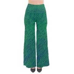 Deep green pattern Pants