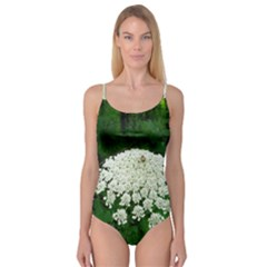 Beetle And Flower Camisole Leotard