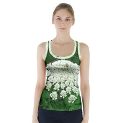 Beetle And Flower Racer Back Sports Top