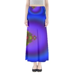 Into The Blue Fractal Maxi Skirts