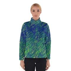 Green Pattern Winterwear