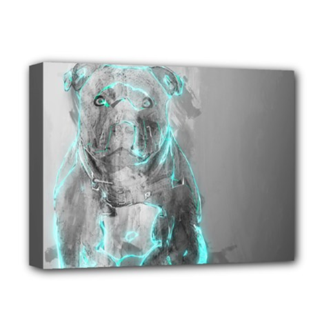 Dog Deluxe Canvas 16  x 12