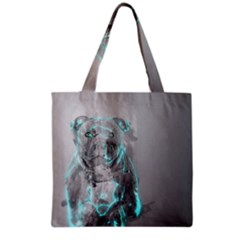 Dog Grocery Tote Bag