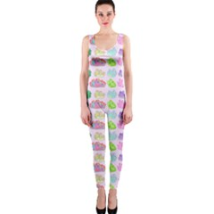 Crystals and Gems OnePiece Catsuit