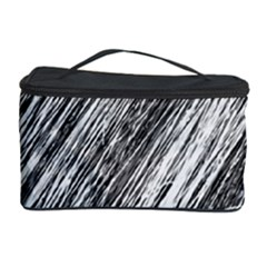 Black and White decorative pattern Cosmetic Storage Case