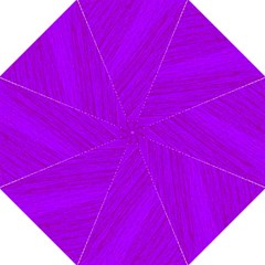 Purple pattern Hook Handle Umbrellas (Medium)