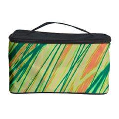 Green and orange pattern Cosmetic Storage Case