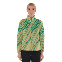 Green and orange pattern Winterwear