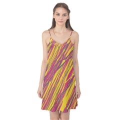 Orange pattern Camis Nightgown