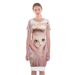 Ballet The Pink Lover By Rosie Lee D37y3jq Classic Short Sleeve Midi Dress