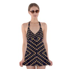 One Speed Halter Swimsuit Dress