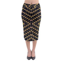 One Speed Midi Pencil Skirt