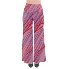 Pink and red decorative pattern Pants