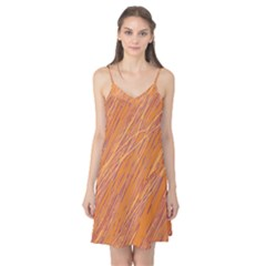 Orange pattern Camis Nightgown