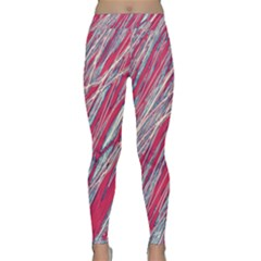 Purple decorative pattern Yoga Leggings