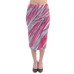 Purple decorative pattern Midi Pencil Skirt