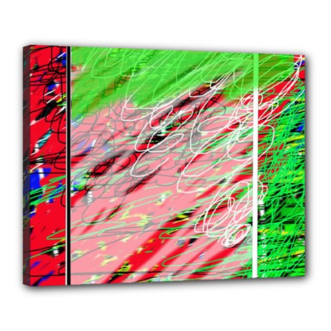 Colorful pattern Canvas 20  x 16