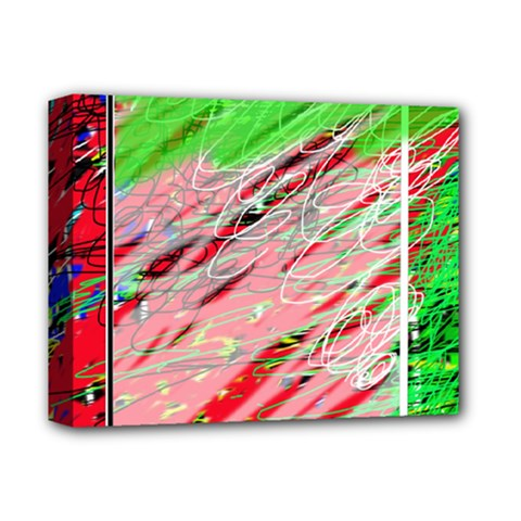 Colorful pattern Deluxe Canvas 14  x 11