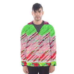 Colorful pattern Hooded Wind Breaker (Men)