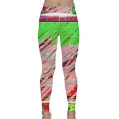 Colorful pattern Yoga Leggings