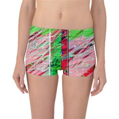 Colorful pattern Boyleg Bikini Bottoms