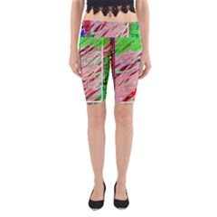 Colorful pattern Yoga Cropped Leggings