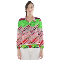Colorful pattern Wind Breaker (Women)