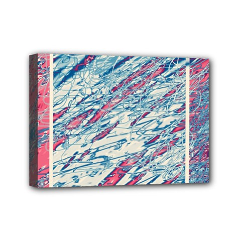 Colorful pattern Mini Canvas 7  x 5