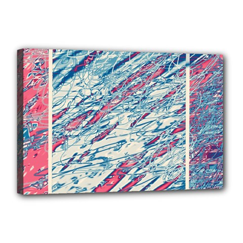 Colorful pattern Canvas 18  x 12