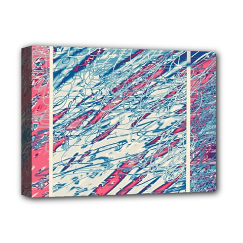 Colorful pattern Deluxe Canvas 16  x 12