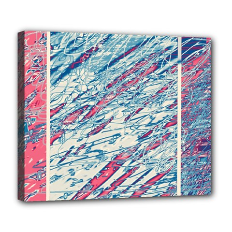 Colorful pattern Deluxe Canvas 24  x 20