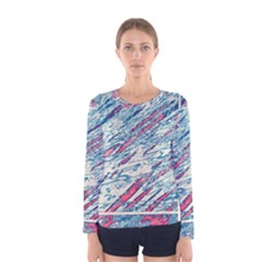 Colorful pattern Women s Long Sleeve Tee